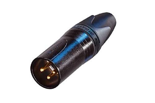 Neutrik NC3MXX-B XLR-Stecker