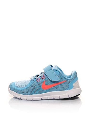 Nike Unisex-Kinder Free 5 (PSV) Krabbelschuhe, himmelblau, 29.5 EU