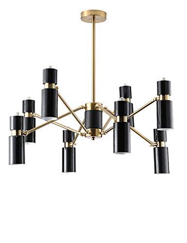 Kronleuchter Möbel Wohnaccessoires Nordischen Stil Restaurant Persönlichkeit Kreative Wohnzimmer Lampe Einfache Licht Postmodernen Schlafzimmer Hängelampen (Size : Warm Light)