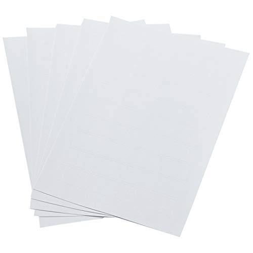 Amazon Basics Removable Print or Write Labels, White, 0.5 x 0.75 Inches, 1008 -Pack