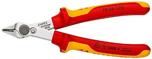 Knipex 78 06 125 SB Electronic Super Knips VDE, 125 mm, producto en cartulina autoservicio/en blíster