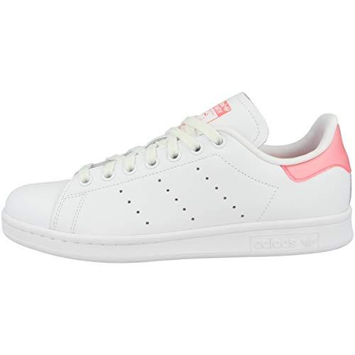 adidas Stan Smith, Sneaker Womens, Ftwwht Sigpnk Ftwwht, 42 EU