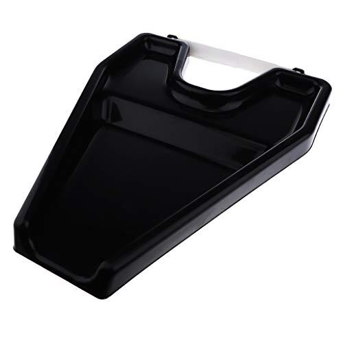 CUHAWUDBA Noir le Plateau de Lavage de Cheveux Nettoyant Portable Lavabo pour la Maison Patient Handicapé, Bac à Shampooing