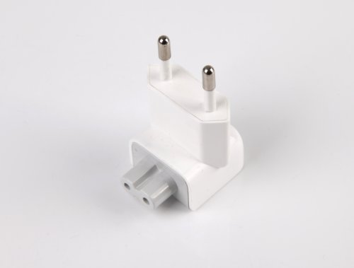 Cargador Adaptador de 2 Pines, Conector de alimentación Europeo, para iPhone, iPod, iPad, Mac