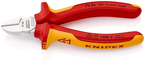 KNIPEX Pince coupante de côté Isolées pour 1 000 V (140 mm) 70 06 140