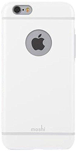 Moshi iGlaze - fundas para teléfonos móviles (7 cm, 9,6 mm (0.378'), 14,13 cm) Color blanco