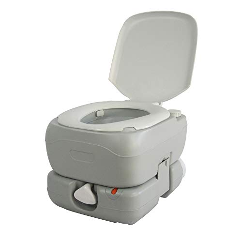 Sun Ruck ポータブル水洗トイレ ピストンポンプ方式 簡易トイレ 12L SR-PT4412