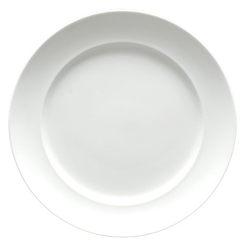Fortessa Fortaluxe SuperWhite Vitrified China Dinnerware, Cassia 6-1/4-Inch Bread and Butter Plate, Set of 6