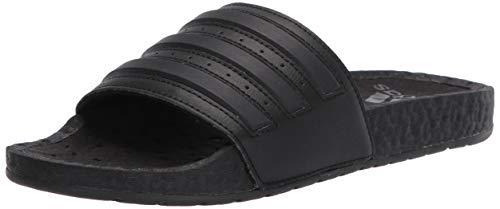 adidas Adilette Boost Slide Sandalen, Schwarz (Core Black/Core Black/Core Schwarz), 39.5 EU