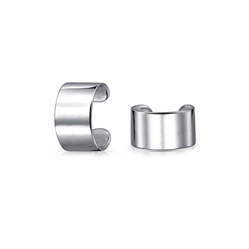 Minimalistische Geometrische Band Knorpel Ohr Manschetten Schlingen Helix Nicht Ohrringe 925 Sterling Silber