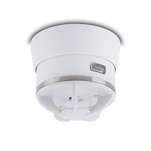 ELRO Cavius Mini-Design 10-Jahres-Hitzemelder / Thermomelder, weiß, 3002-003