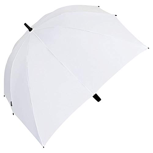 VON LILIENFELD® Paraguas Boda Nupcia Grande XXL 2 Personas Mujer Hombres Robusto Maxi Blanco
