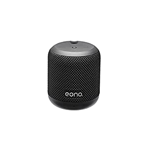 Eono by Amazon - Bluetooth IPX5 Waterproof Speaker with HARMAN Sound Technology, 9 Hours of Playtime, Deep Bass Sound, Siri and Google Compatible, Built-In Microphone