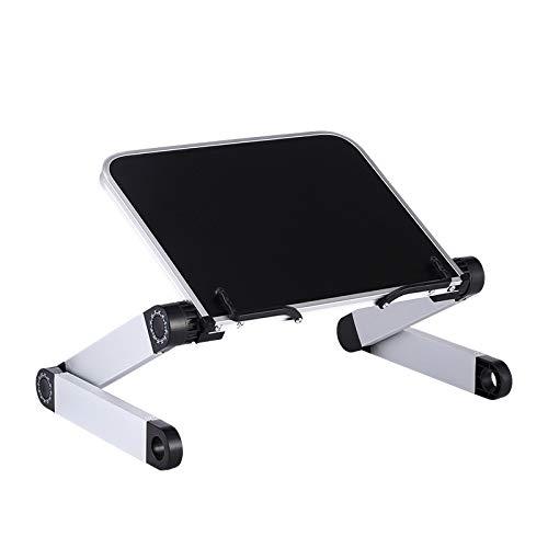 SQINAA Sqinaalaptop Tisch, Faltbare Computer-Schreibtisch, Laptop Stand Tragbare Tisch mit Maus-Brett für Bett-Behälter, Lesen Bracket