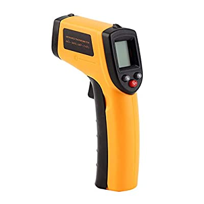 JSX Infrared Thermometer, Thermal Imager Non-Contact Laser Handheld IR Digital Electronic Car Temperature Meter -50~380?
