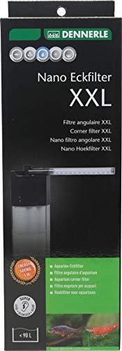 Dennerle Nano Eckfilter XXL | Filter für Aquarien bis 90 Liter | Leistungsstark, leise & kompakt