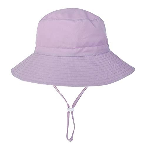 Sombrero de sol para bebé, para verano, protección UV, ideal para viajes, vacaciones, playa, deportes al aire libre M5 Talla única