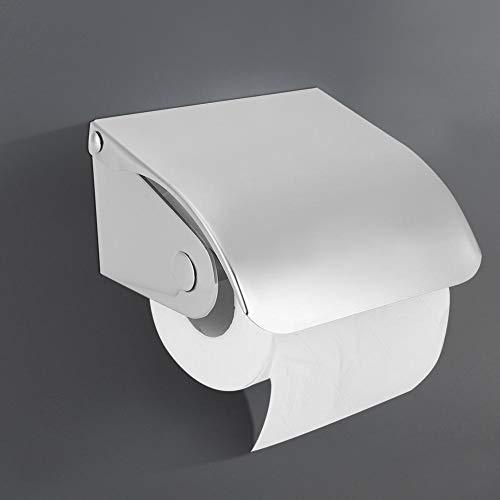 RBSD Robuster Toilettenpapierhalter, platzsparender Seidenpapierhalter, rostbeständiger Papierkastenhalter aus Edelstahl für gewerbliche Zwecke