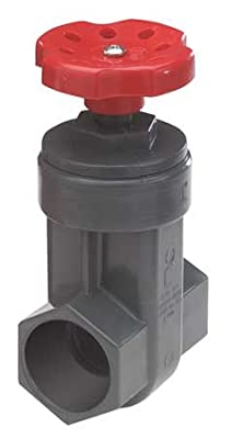 Gate Valve, 1 In., PVC, 140 Deg F from NDS