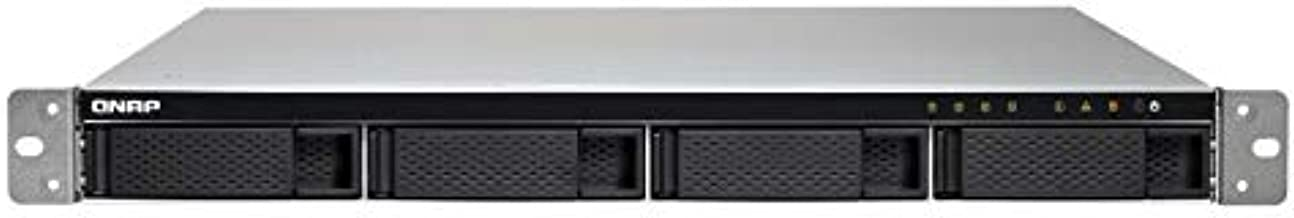 QNAP TS-432XU-RP-2G-US 1U 4-Bay ARM-Based 10G NAS, Quad Core 1.7GHz, 2GB DDR3 RAM, 2 x 10GbE SFP+, 2 x GbE, Redundant Powe...