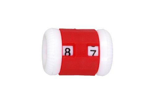 6,5 mm Grand 4,5 KnitPro Compteur de rangs (Rouge)