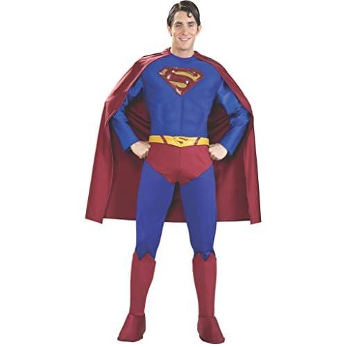 Rubie's Costume da Superman Ufficiale per Adulti, Taglia XL