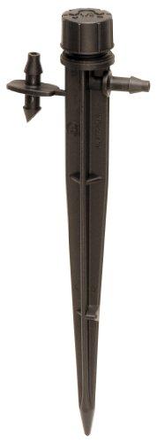 Rain Bird MBH4PKS Tropfbewässerungs-Mikro-Bubbler auf Pfahl, 180° Halbkreismuster, 0–91 cm Sprühentfernung, 4er-Pack