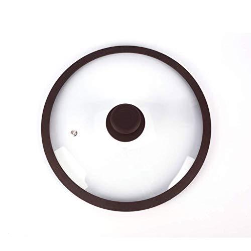 NXYJD CHFYPGZ Temperato Coperchio di Vetro, Composizione Verticale Splash-Proof Coperchio, più Formati tra Cui Scegliere for Soddisfare Diversi Pots