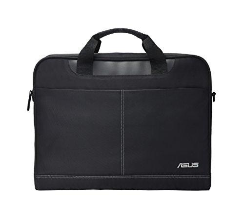 Asus Nereus Tasche (bis zu 16 Zoll, gepolstert, verstellbarer Schultergurt, für Notebook) schwarz