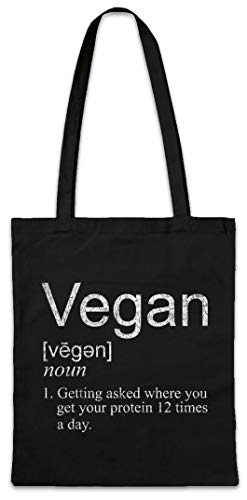 Urban Backwoods Vegan Proteines Boodschappentas Schoudertas Shopping Bag