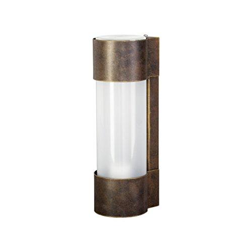 Preisvergleich Produktbild Heibi Außenwandleuchte NEPTO,  braun-gold