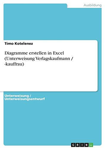 Diagramme erstellen in Excel (Unterweisung Verlagskaufmann / -kauffrau)