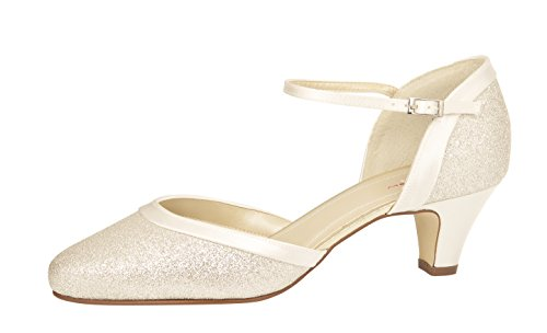 Rainbow Club Damen Ester Pumpe, Ivory Creme
