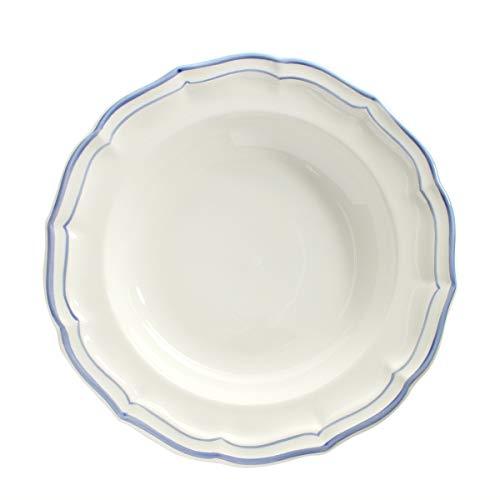 ジアン(Gien) フィレ ブルー スーププレート 22.5cm 1540 [並行輸入品]