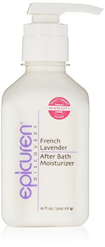 Epicuren Discovery French Lavender After Bath Body Moisturizer, 16 Fl Oz