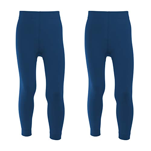 Celodoro Kinder Thermo Leggings - Doppelpack Blau 110-116