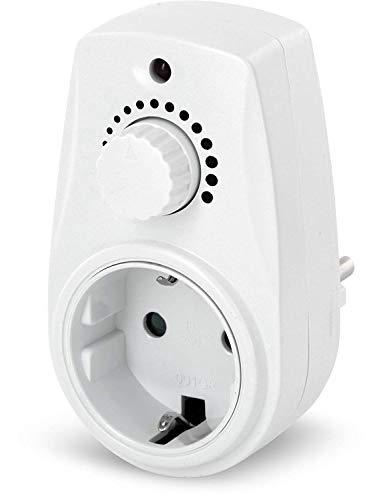 Zwischenstecker mit Drehdimmer 230V - für LED Halogen Glühbirne - max. 280W