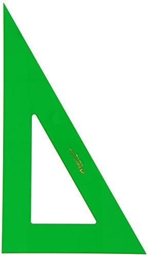 Faber-Castell 666 - Cartabón de 32 cm, color verde