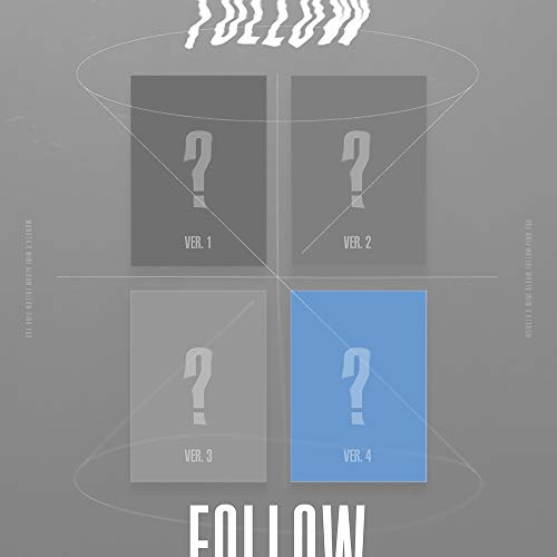 Starship Entertainment Monsta X – Follow – Find You [Version 4] Album + Avantage pré-Commande + Poster + Cartes Photos supplémentaires