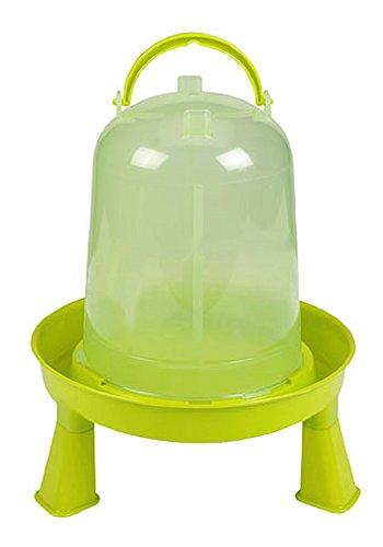 Kerbl 70122 Plastic bevitore con piedi per pulcini e polli, 3L