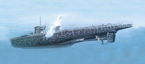 Mirage Hobby 40042 - Deutsches U-Boot U 511 Typ IX B Turm I und WG42, Schiff