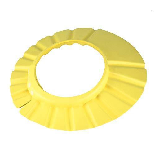 JohnJohnsen Sombrero Ajustable para bebés Champú para niños pequeños Baño Baño Gorro de Ducha Lavado Escudo para el Cabello Gorras de Visera Directa para niños Cuidado del bebé