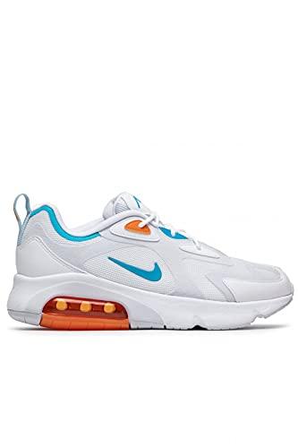 Nike Zapatillas para hombre Air Max 200., color Blanco, talla 41 EU