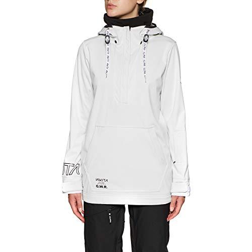 Nikita Snowboardjack voor dames, radio, PO Hoodie Jacket
