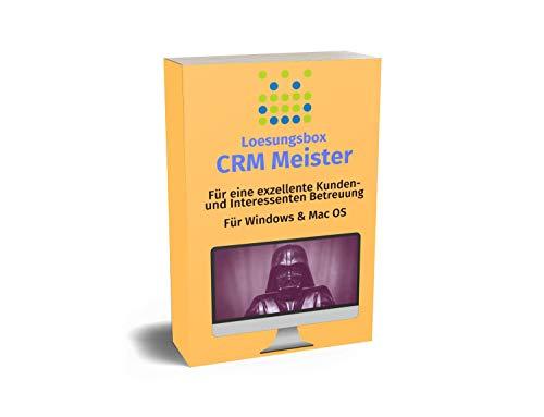 Loesungsbox CRM Meister: Preisgekrönte Software um Kunden und Interessenten exzellent zu bedienen - Für Windows & Mac OS - Mietlizenz / Monat