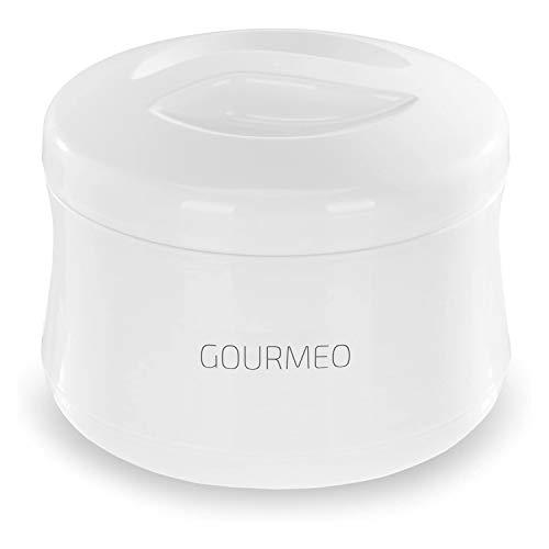 GOURMEO Joghurt-Bereiter ohne Strom,1 Liter | Joghurt-Gefäß, Yoghurt-Maker
