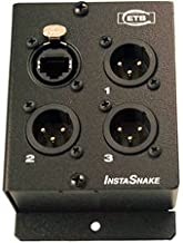 ETS PA205M InstaSnake 3-Channel XLR Male CAT5 Audio Balun-by-ETS
