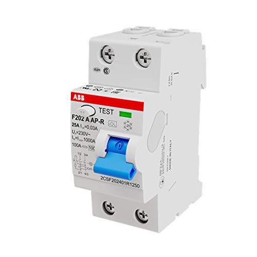 ABB F202A-25/0,03AP-R Componente Elettronico, White