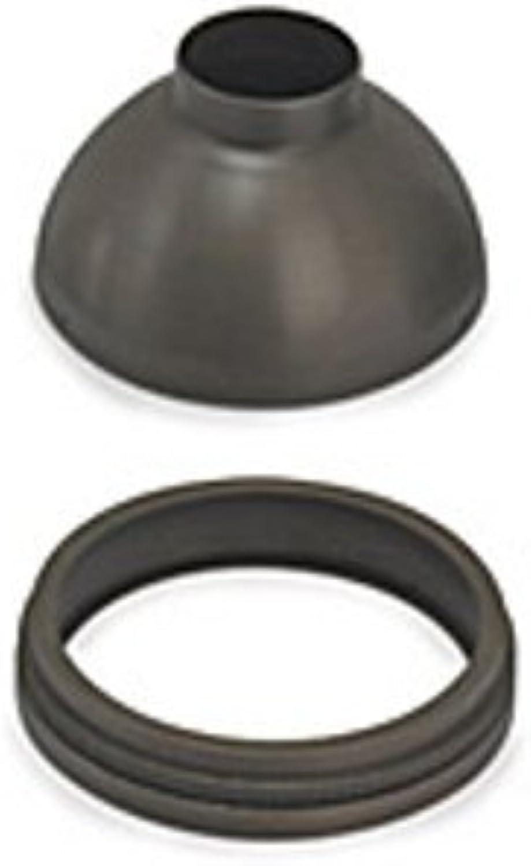 Tech Lighting 700MR16SBZ Backlight Shield MR16 sol, 6.8  x 6.8  x 5.95