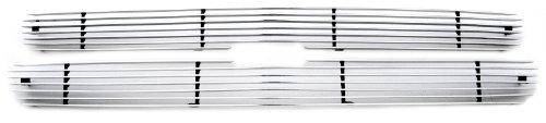 TRex Horizontal Aluminum Polished Finish Billet Grilles